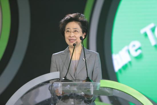 中国残联副主席、中国残疾人福利基金会理事长王乃坤致辞