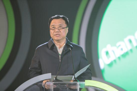 中国肢残人协会常务副主席兼秘书长王建军致辞