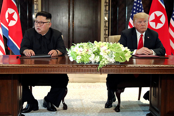 新加坡峰会一周年之际 朝鲜敦促美改变敌视政策