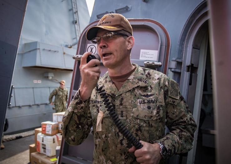 美国海军:第五舰队司令确定死于自杀
