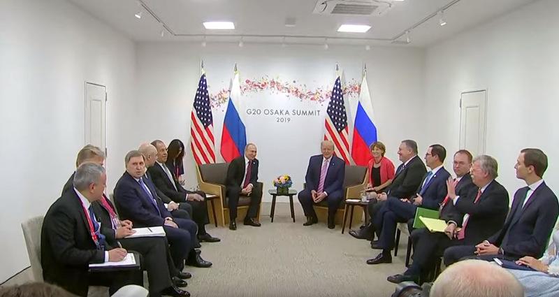 特朗普G20峰會見普京:不要干預美國大選哦(圖)