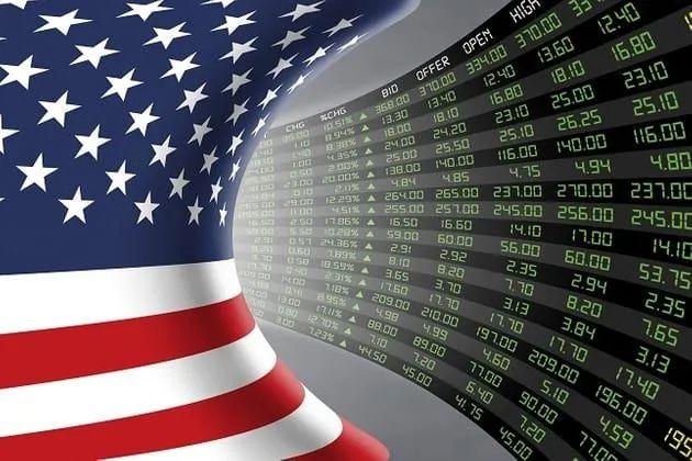 美股交易大屏。图源shutterstock