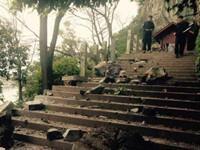 桂林落石事故后 全市排查地质隐患