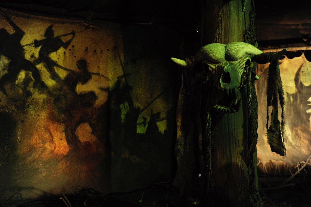 兽人帐篷壁画