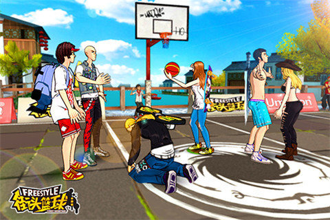 街头篮球游?#26041;?#22270;
