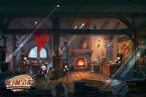 地下城与冒险游戏截图