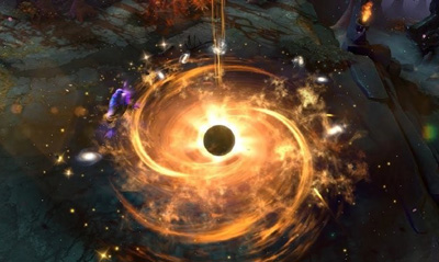 群星尽灭,吞噬一切:DOTA2中那些令人惊叹的黑洞