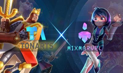 MixMarvel携TonArts推出《加密王座:无限世界》
