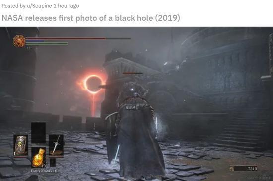 """""""黑洞""""成像首度揭露 游戏圈刮起了新的迷因"""