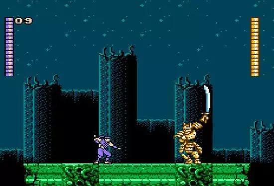 ·八位机游戏《赤影战士》,在中国通常被称为'水上魂斗罗'