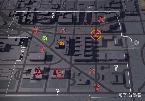 基本每一条街都有个扛把子,这些还是只是地图显示