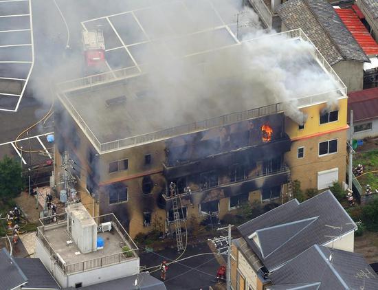 京都动画大火34名伤者全数脱离生命危险 含嫌犯