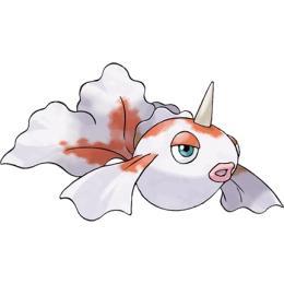 精灵宝可梦go金角鱼