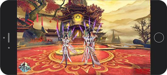 图3:《诛仙手游》全新焚香职业完美还原诛仙端游时尚造型
