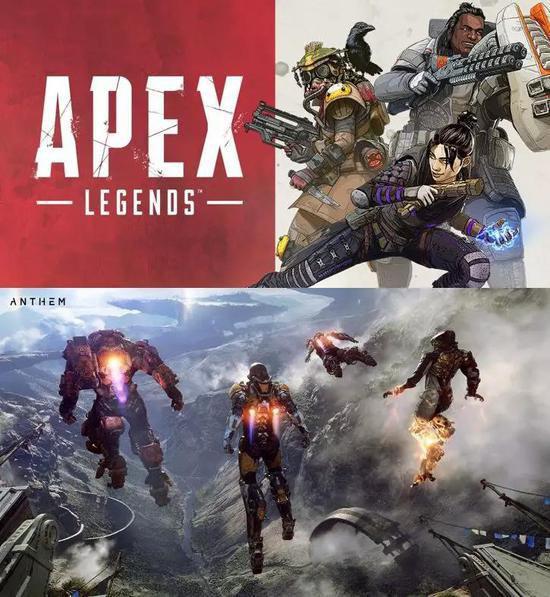 《Apex英雄》(上)和《圣歌》(下)