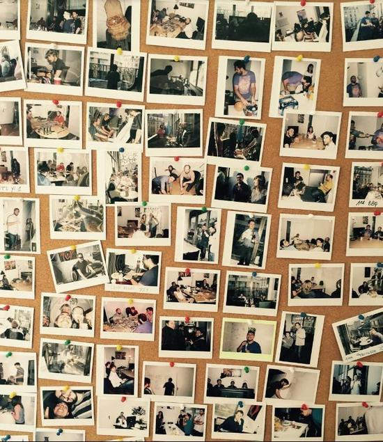 Dotemu公司的员工照片墙