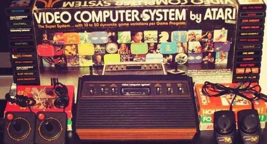 雅达利2600游戏机