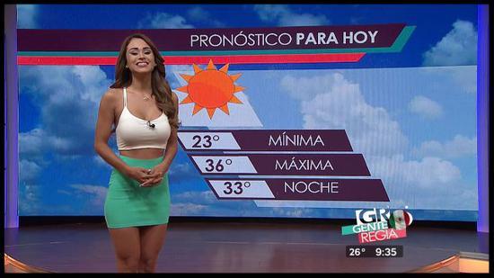 Yanet预报天气时大概就是这样