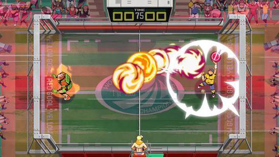 Dotemu推出的2D对战游戏《Windjammers 2》