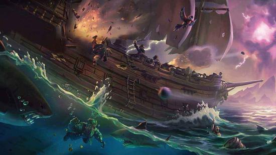 《盗贼之海》用户量破千万:谁拯救了Rare工作室?