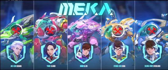 釜山守备队的配色似乎Neta了恐龙战队