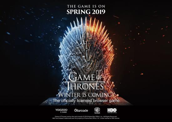 《Game of Thrones Winter is Coming》将于19年春季发行。图片来源:BusinessWire