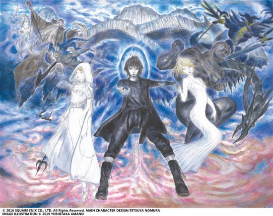 《最終幻想15》手游主視覺海報