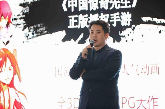 """""""《中国惊奇先生》手游将成为下一个行业现象级产品""""(火谷CEO马金辉演讲)"""