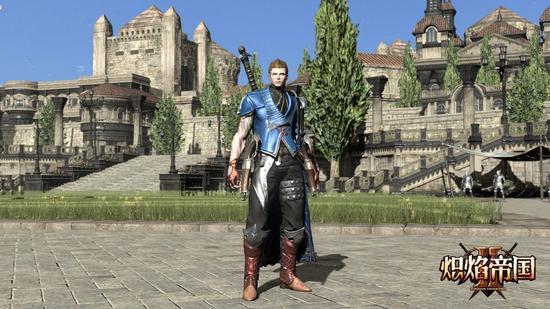 图2:人族天生战士——枪剑士
