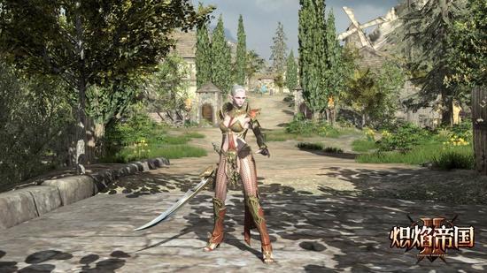 图3:黑暗精灵女战士——魔剑士