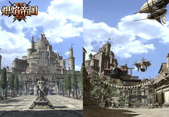 图5:荣耀之城新旧街道对比图