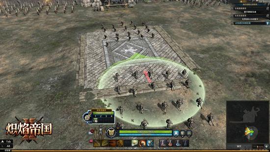 图2:荣耀之城部队对阵图