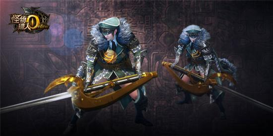 太刀武器时装:铁血军刀