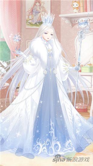 奇迹暖暖信鸽王国雪之女王 套装部件欣赏