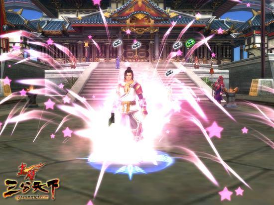 图7:玩家燃放礼花