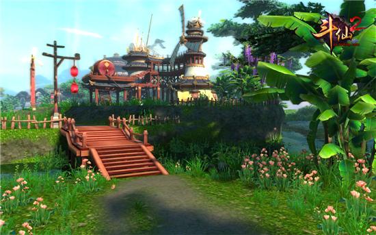 图1:《斗仙2》游戏截图