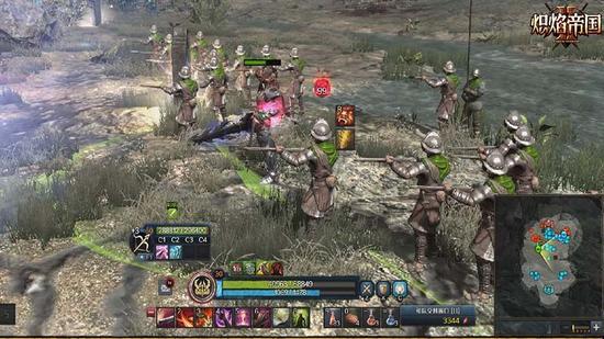 图3:火枪兵支援英雄作战