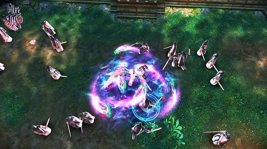 图7《青丘狐传说》手游—打斗