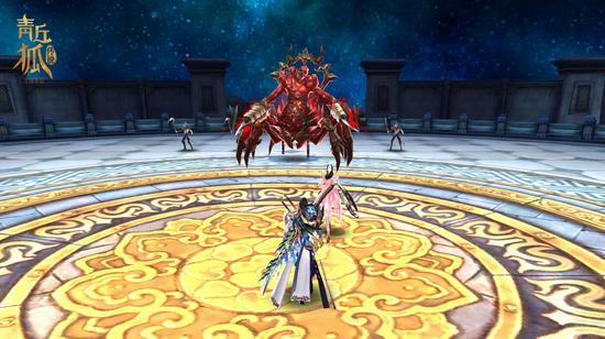 图4《青丘狐传说》手游—地狱鬼王