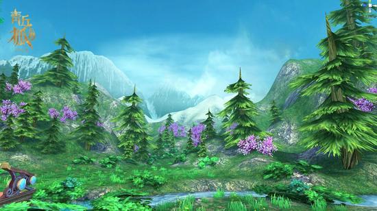 图4《青丘狐传说》手游—青丘美景