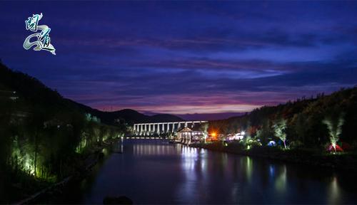 黑虎山夜景