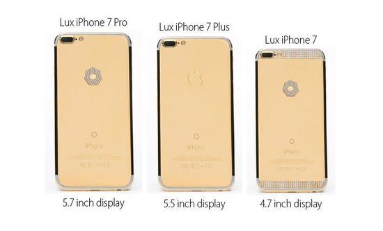 镶钻iPhone7最高售价130万美元