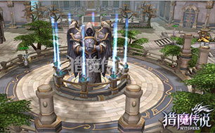 大型家园场景玩法 猎魔传说ol公会神树培养介绍 详解怎么玩