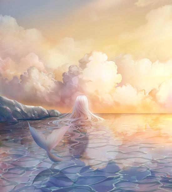奇迹暖暖绝美套装惊艳亮相 人鱼和飞鸟的传说
