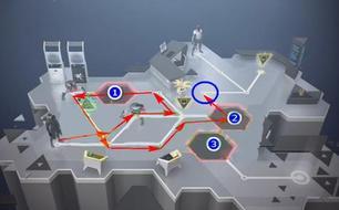 杀出重围GO第十七关图文攻略 机器和炮台 详解怎么玩