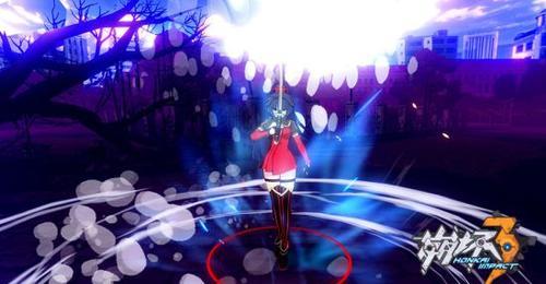 《崩坏3》芽衣角色卡'女武神·强袭'战斗画面