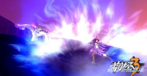 《崩坏3》芽衣角色卡'雷电女王的鬼铠'战斗画面