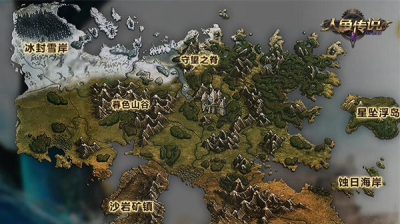 图2游戏地图