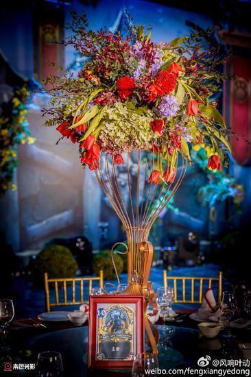 玩家举办炉石主题婚礼