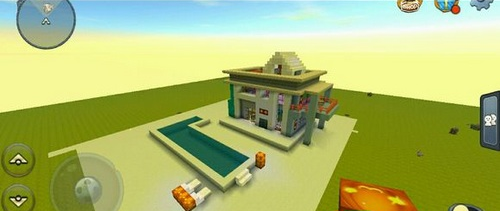 《迷你世界》平原小别墅怎么建 玩家作品欣赏之平原小